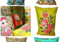 Cushion Inspiration / Cushions that inspire Fait a La Main