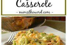 Food - Casseroles