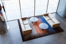 S28 PROJECT - BHP Billiton Rug Design / STATE28 is proud to showcase this amazing bespoke rug design  & installation