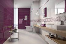 Ideas para decorar en malva-Ideas to decorate in mauve. / Hoy, cuatro propuestas en malva para el baño ¡Déjate seducir! http://ow.ly/Od6Df Today, four proposals in mauve for bathrooms. Let yourself be seduced! http://ow.ly/Od6DY