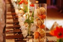Fall decorations / by Alicia Overmyer