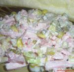 Šaláty / príprava šalátov