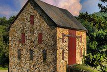 House - Old Stone/ exterior / by Deanna Rohrer