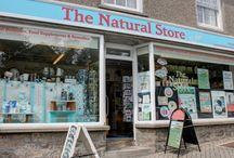 The Helston Shop / Pictures of our shop in Helston - our products and the outside of the shop