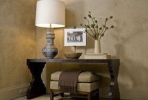 House: Console tables / by Michelle .