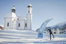 cross-country skiing | Langlaufen