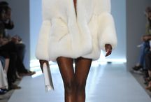 Haute couture with fur