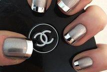 Uñas elegantes - Elegant nails / Diseños de uñas especiales para lucir muy elegante y atractiva - Elegant nails