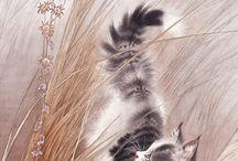 Lindos gatitos / by Nonna Anna