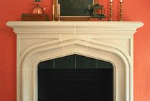 fireplace / by Mary Pugh