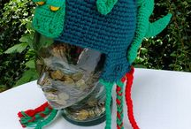 crochet hat / czapki na szydełku / crochet hat, czapki na szydełku