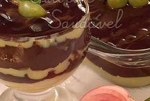 Copa de choco con uvas