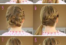 Little Girl Hair Styles / Ideas for my little girl!