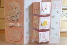 Babyshower kort