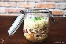 Suppen im Glas