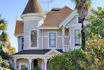 California Queen Anne Mansions