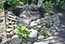Garden fountain / Vesiaiheet puutarhassa