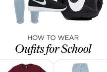 Oufits for school