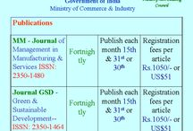 Submit and publish articles to 'ISSN' journals and also join courses / International Society for Green, Sustainable Engineering and Management Organisational Member Quality Council of India Department of Industrial Policy and Promotion Government of India Ministry of Commerce & Industry  Key Patron-Indian Green Building Council (IGBC)-Confederation of Indian Industries (CII's)