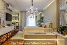 Espelhos Venezianos para Decorar e Encantar!!! 30 Ambientes Maravilhosos! / Veja + Inspirações e Dicas de decoração no blog!  www.construindominhacasaclean.com