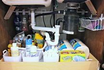 kitchen storage/organization / storage diy / by Charyn Sweet
