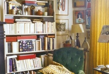 Project: New Space / Personal Residence. Lots of colour, plants, warmth, indian textile and books!