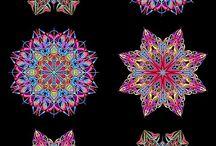 kaleidoscope quilts / tkanina artystyczna