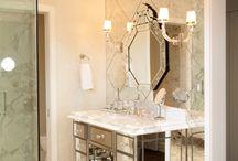 ∆ Bathroom Luxe ∆ / Beautiful luxe bathrooms