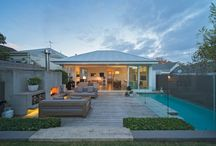 Outdoor Fireplace & Exterior Spaces