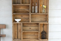 shelves and storage