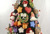 Kerst Haken / Haak je eigen kerstboom met de ontwerpen uit het boek KERST HAKEN. Ik geef dit uit in september 2017