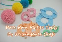 how to make 'pom-pom' ♡