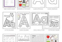 Learning Alphabet Fun! / Alphabet education and fun letter by letter.