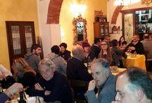 Cena di Santa Apollonia (Patrono Odontotecnici) - 9/2/2016 / Sertata conviviale per Odontotecnici, parenti e amici alla Trattoria La Vigna di Arezzo