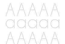 lettere maiuscole stampato