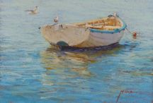 Paintings - Waterscapes / Water subjects painted by Regina Hona