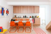 Refreshing Colorful Rooms / Some of our favorite colorful rooms inspired by the new Method Air Refresher scents: Wild Poppy, French Lavender, Fresh Clover, Sweet Tangerine and Beach Sage. / by Design Milk