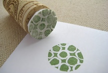 carving stamps / by Pam Lunnon-Brown