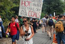 Climate march sign ideas