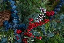 Holiday Containers and Arrangements / Holiday/Winter containers that you can make yourself with our DIY product, or buy and take home!