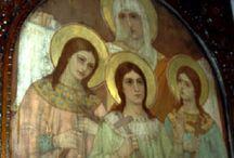 Αγίες Σόφια Πίστη Ελπίδα και Αγάπη -Saints Sofia Faith Hope and Love