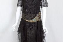 stunning dresses (inspiration board) / mostly edwardian or flapper style dresses, but some steampunk and more modern stuff as well all for sewing & embroidery inspiration