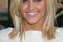 Vlasy, hairstyle, make-up