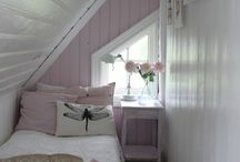 tiny attic bedroom