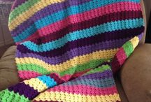 Crochet Afghans:  Striped / by Joan Nicholes