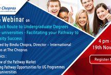 Webinar on Fast Track Route to International Undergraduate Degrees at Elite Universities