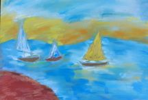 Free Inspirations- my painting / pastels, watercolors,sketches