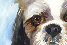 Shih Tzu Art / for the love of shih tzu's