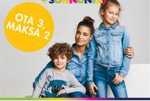Lasten Lauantain + Sunnuntain tarjoukset