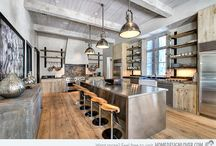 Ideeën voor het huis / keukens en wonen